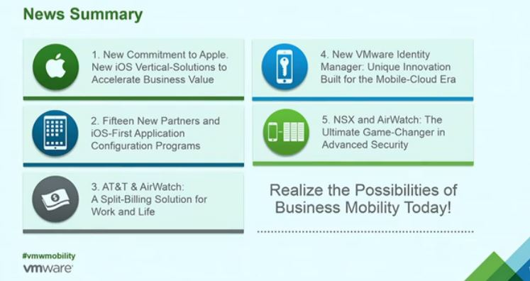 VMware ups Security Ante and Shows its Ready for the Post-PC Era