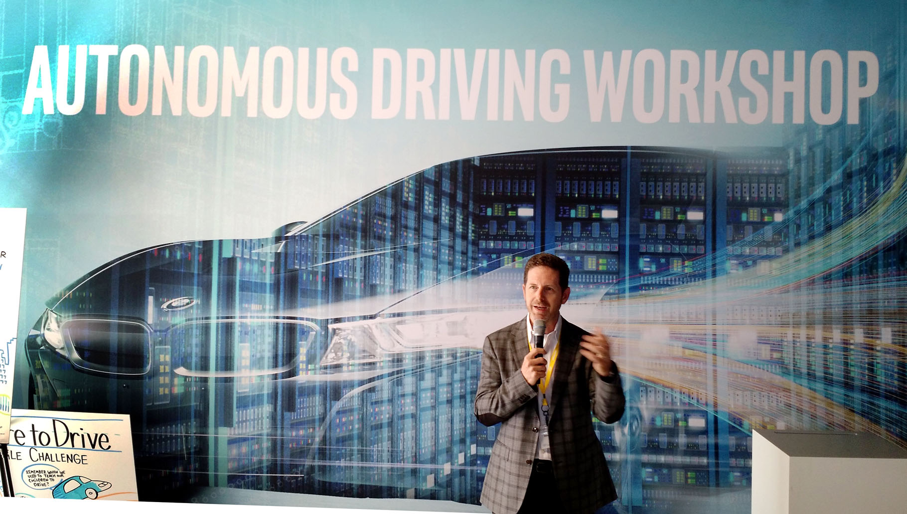 Doug Davis, Senior vice president and general manager of Intel's Automated Driving Group, discusses his mission to bring Intel autonomous driving technology to the masses